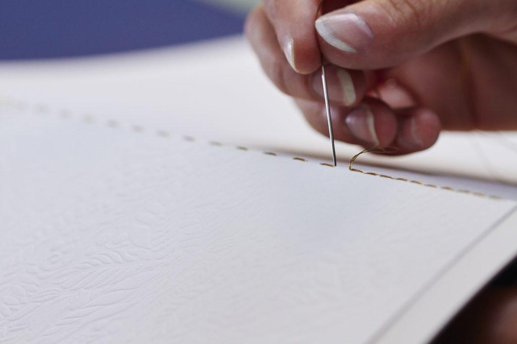 Pigment Grafiti - Maquettes Packaging - Reliure au fil