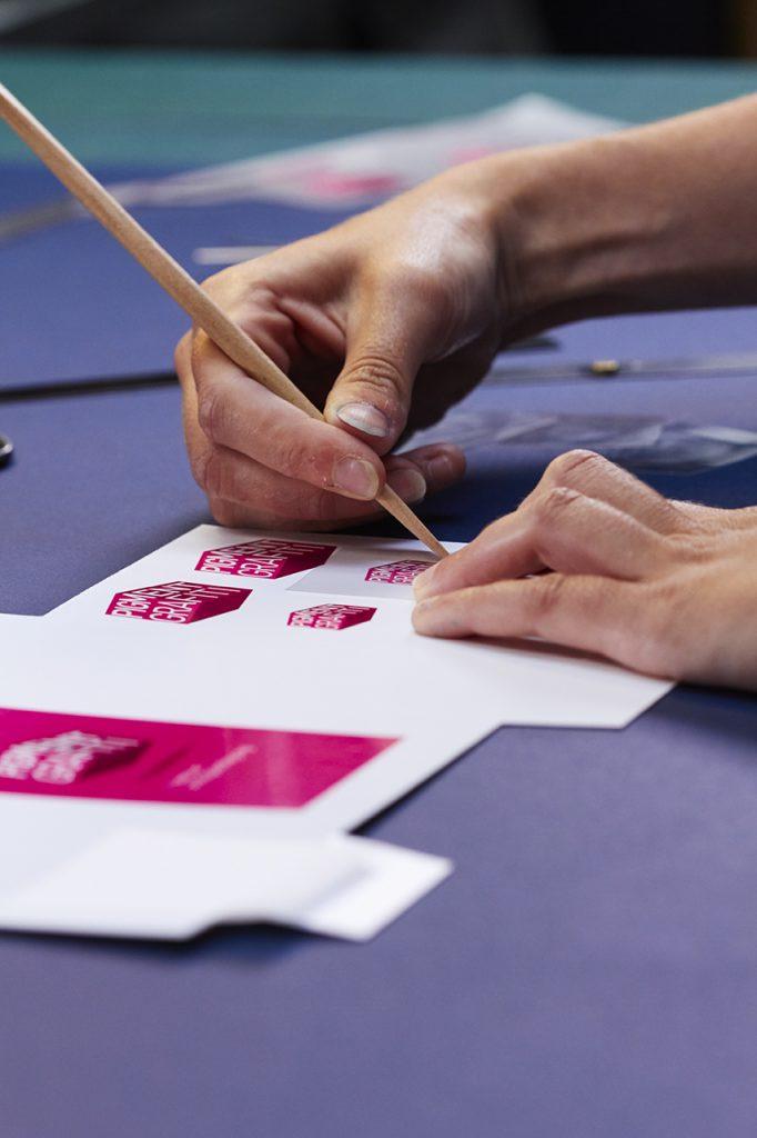 Pigment Grafiti - Protopackaging - Transferts à sec