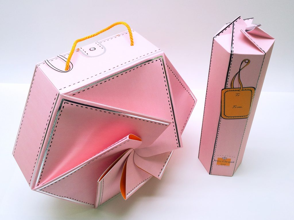 Pigment Grafiti - Protopackaging - Maquettes de packaging Champagne