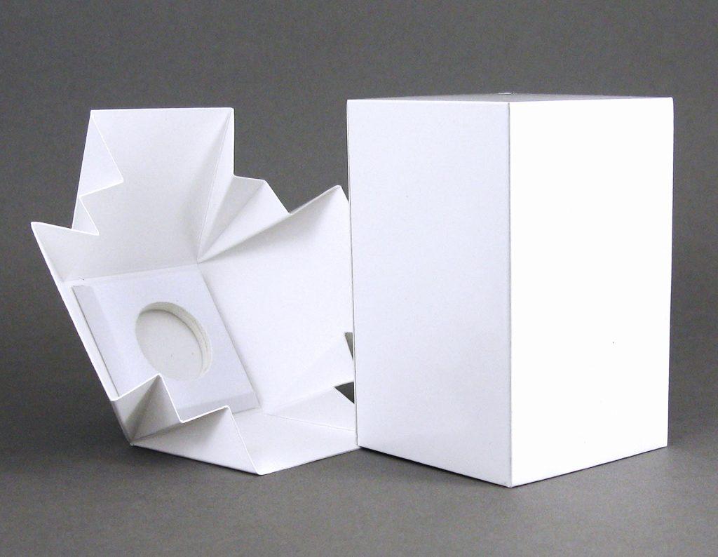 Pigment Grafiti - Maquette de packaging -Formes en blanc