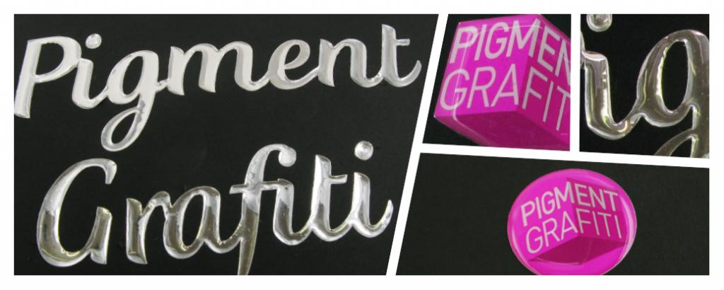 Pigment Grafiti- Maquettes de packaging - Doming
