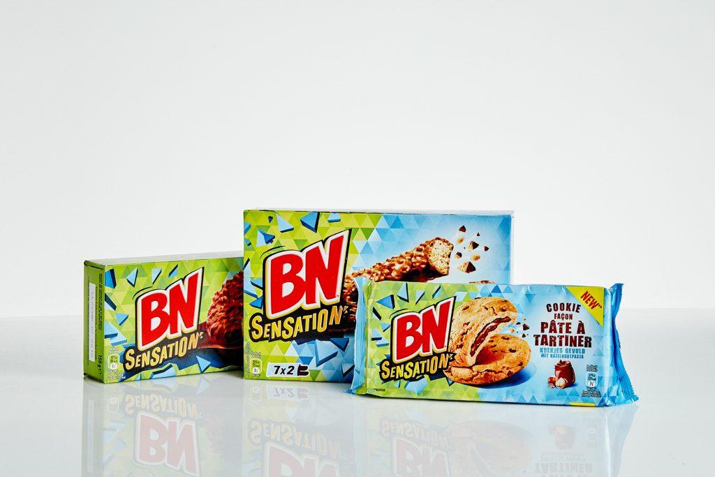 Packaging sachet souple - Packaging étui carton - Prototype emballage alimentaire - Impression sur film souple en quadrichromie et Pantone - Soudure sachet