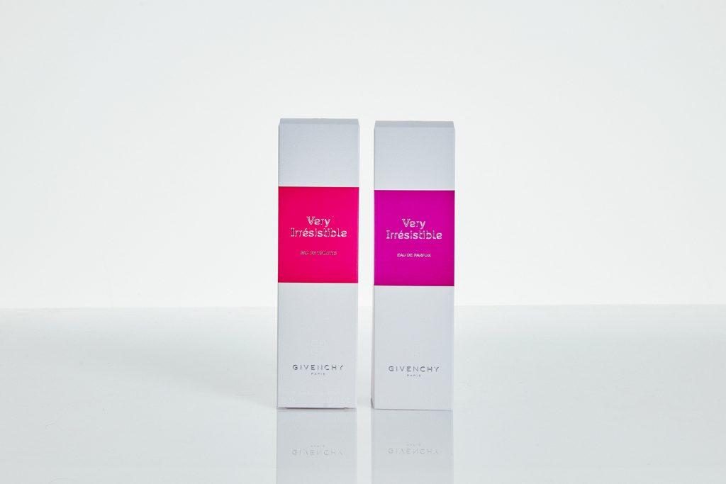 Etui de parfum - Impression en Pantone - Gaufrage - Maquette en carton