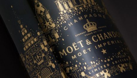 Pigment Grafiti - Moët & Chandon - Couronne
