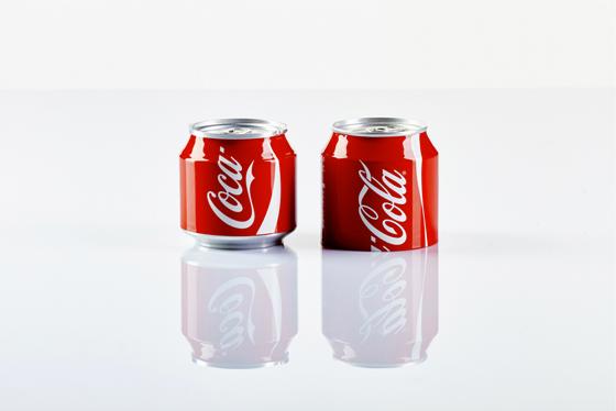 Pigment Grafiti-Maquette réalisée pour le tournage d'un spot publicitaire pour Coca Cola